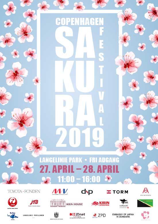 Plakat for Sakura Festival 2019